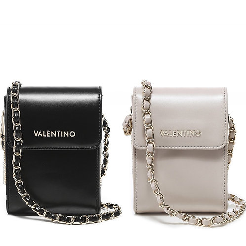Valentino by Mario Valentino - Side tassel phone crossbody bag