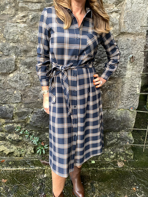 French Connection - Checked shirt dress