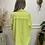 Thumbnail: Distressed denim jacket - Lime