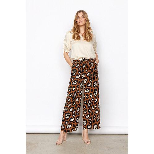 Soya Concept - RAJA 3 - Leopard print trousers