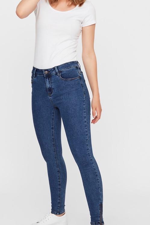 Vero Moda - Zip ankle skinny jeans