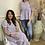Thumbnail: Vero Moda - Floral longer prairie dress