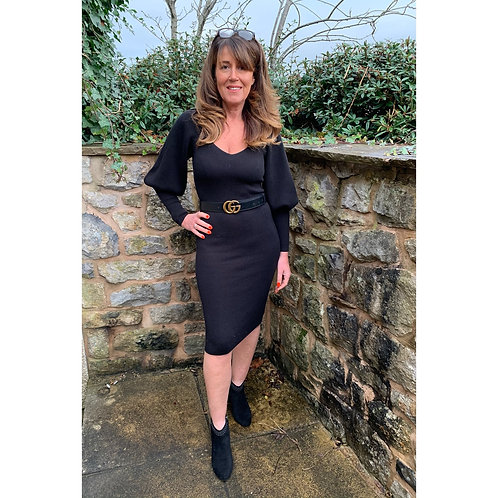 French connection - Ribbed fitted dress