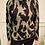 Thumbnail: Vero Moda - Printed high neck jumper