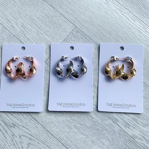 Big metal - Chunky earrings