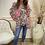 Thumbnail: Malissa J - Neon frill detail oversized top