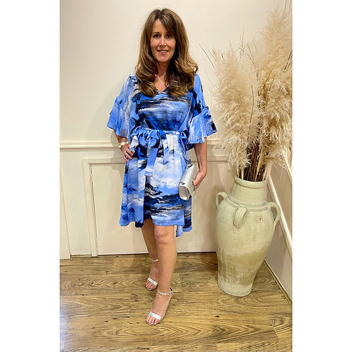 Malissa J - Printed floaty dress