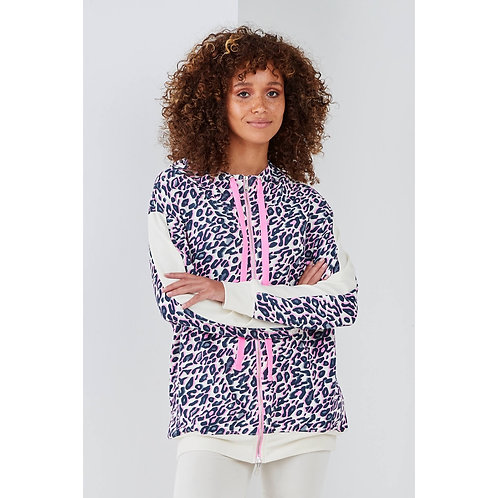 Sundae tee - Lizzy animal print hoodie