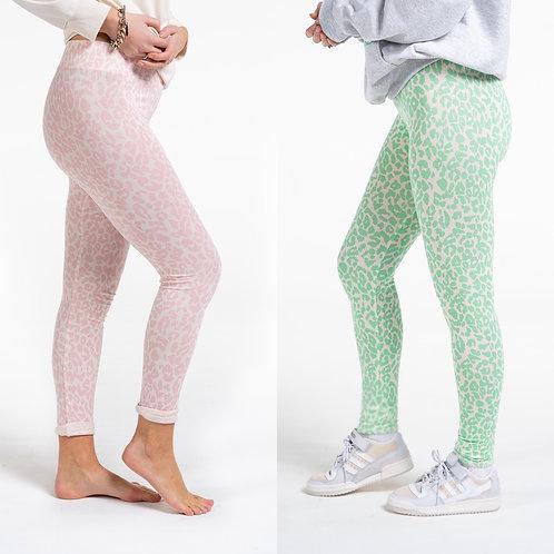 Sundae tee - ALICIA animal print leggings
