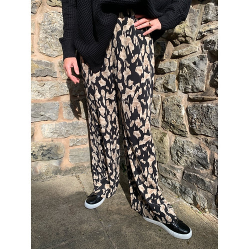 Malissa J - print palazzo trousers