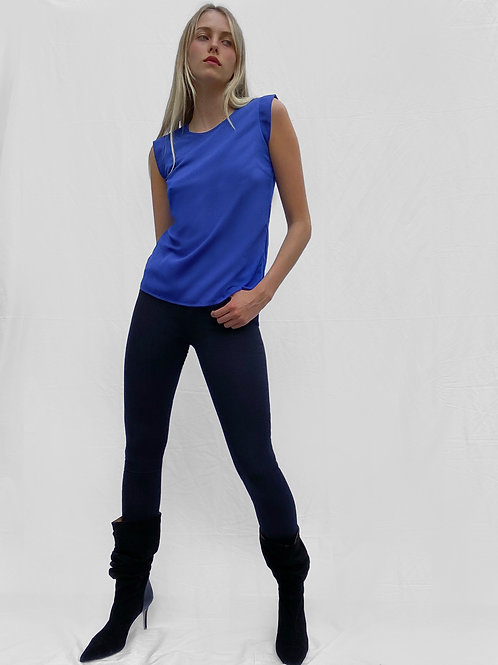French Connection - Cap sleeve plain top