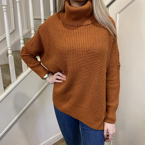 Vero Moda - Roll neck over sized jumper