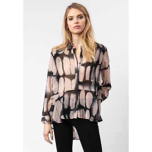 Religion - Abstract print blouse