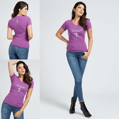 GUESS  - Bling logo t.shirt
