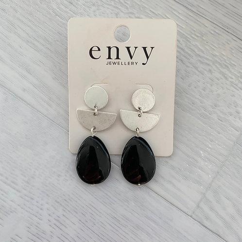 Envy - Bead drop earrings