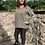 Thumbnail: Malissa j - bling zip oversized top