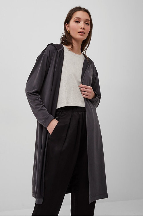 French Connection - RENYA CUPRO HOODED CARDIGAN