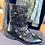 Thumbnail: Vanessa wu leather biker style boot