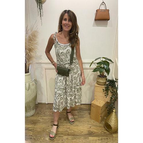 Soya Concept - 'Isabel' Palm print dress