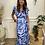 Thumbnail: Tie dye wrap dress