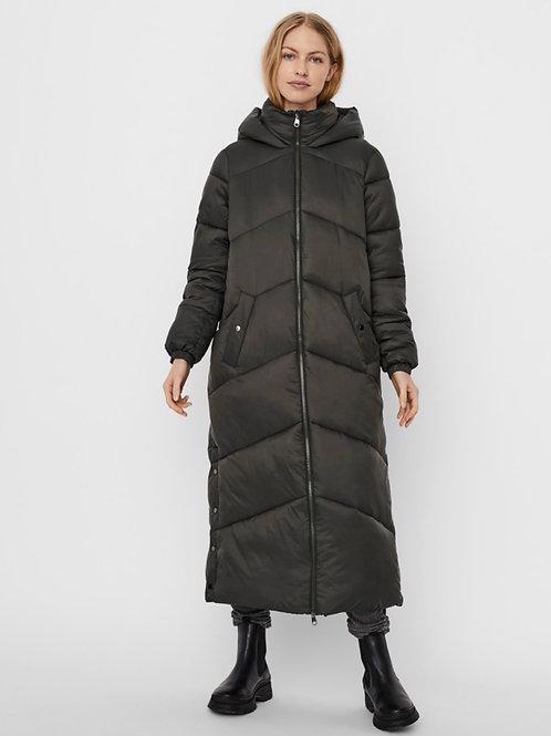 Vero Moda -  dark khaki padded coat