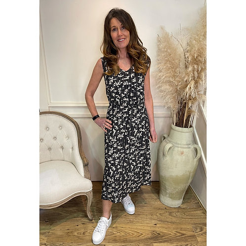 Soya Concept - Printed sleeveless dress