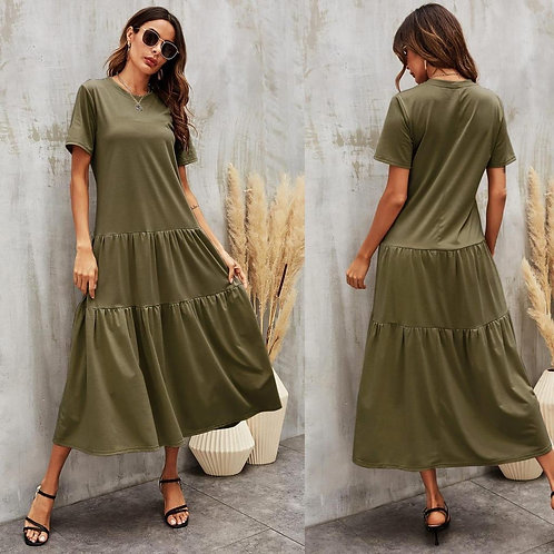 Soft easy fit maxi dress