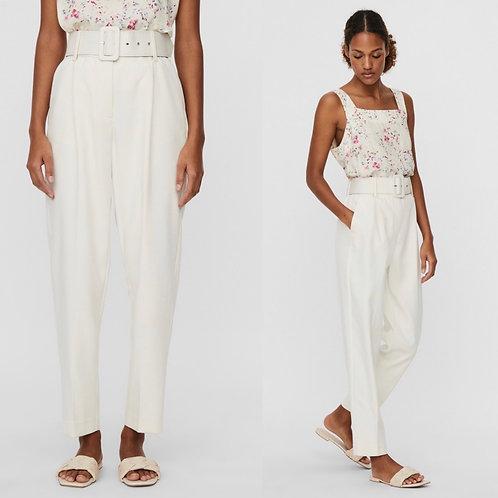Vero Moda - Belted ankle length trouser