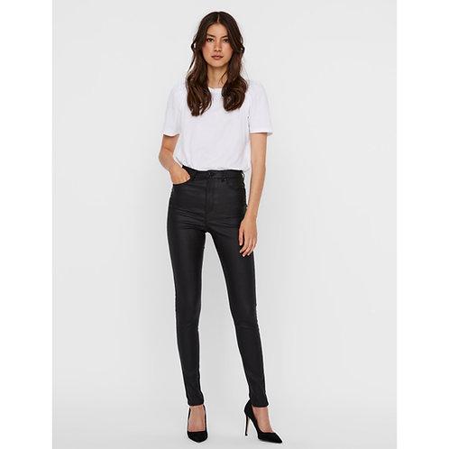 Vero Moda - High waist coated jeans