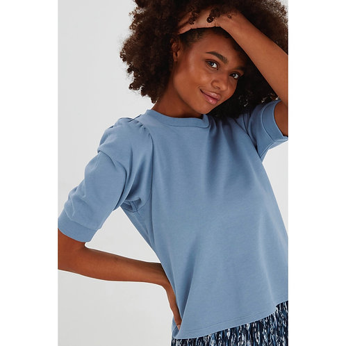 ICHI - 'YARLET' Puff sleeve sweater