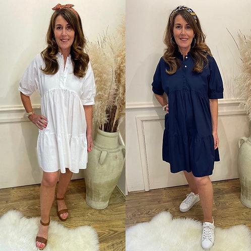 Vero Moda - Prairie shirt dress