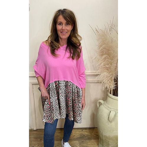 Malissa J - Oversized leopard tunic