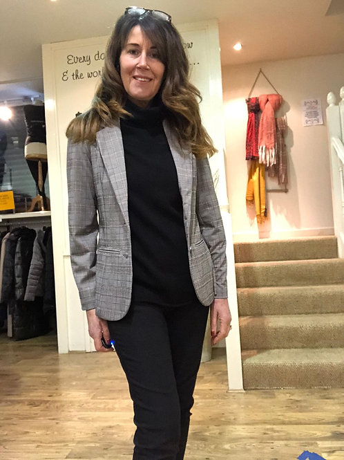 Soya  concept - checked jacket/blazer