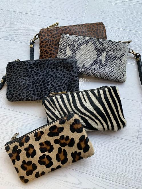 Animal Zip pouch/purse