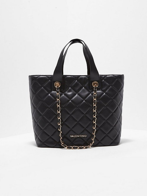 Valentino by Mario Valentino - Large quilted tote bag - Black
