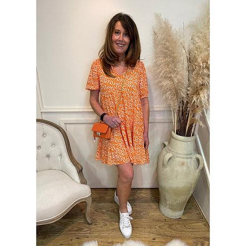 Vero Moda - Abstract print prairie dress