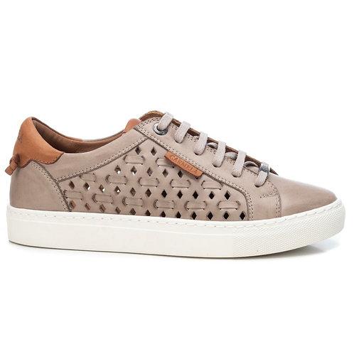 Carmela - 67826- Lace up soft leather trainer