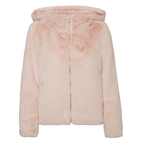 Vero Moda - Faux fur hooded coat