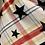 Thumbnail: Jayley - Star/Tartan print reversible scarf