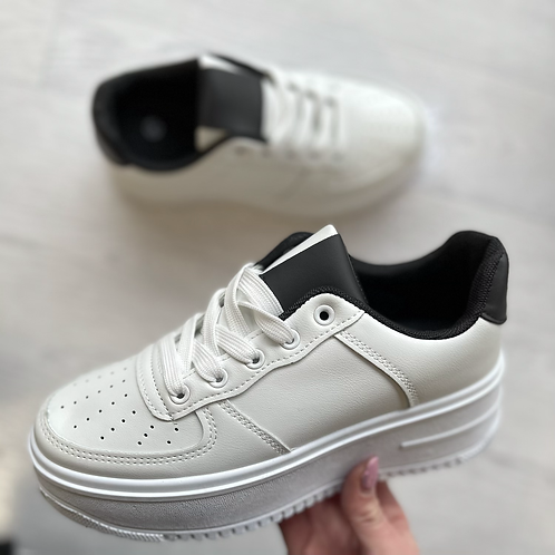 Chunky lace up trainers