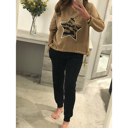 Star detail sweat