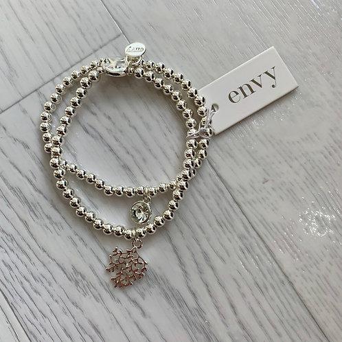Envy - Beaded tree & Jewel bracelet