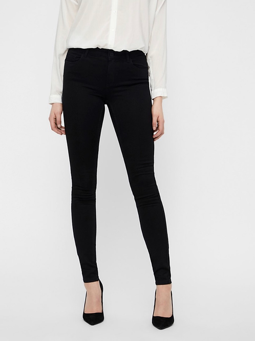 Vero Moda - Black shape up jeans