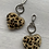 Thumbnail: Animal faux fur & leather keyrings