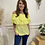 Thumbnail: Off the shoulder frill layer top