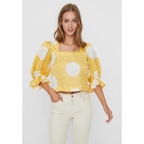 Vero Moda - Big spot printed top