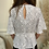 Thumbnail: Spotty tie front top
