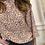 Thumbnail: Vero Moda - Floral 3/4 sleeve top