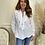 Thumbnail: Broderie Anglaise frill front blouse