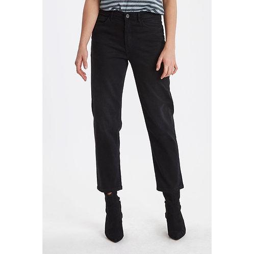 ICHI - 'TWIGGY RAVEN' Straight fit jeans